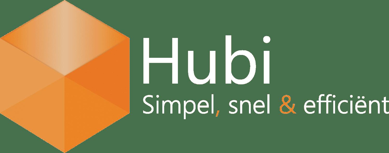 Logo, Hubi, Business Software, Sneller, Simpeler, Efficiënter, werkproces
