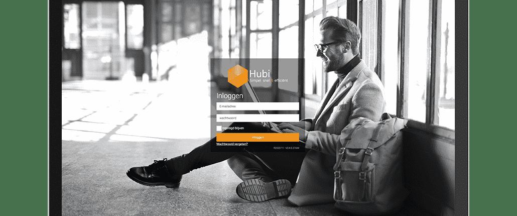 login, Hubi, Business Software, Sneller, Simpeler, Efficiënter, werkproces